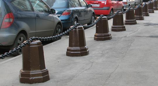 Декоративные тротуарные железобетонные и бетонные столбики не только решат проблему нежелательных авто но и украсят территорию, оградительные столбики по низким ценам!